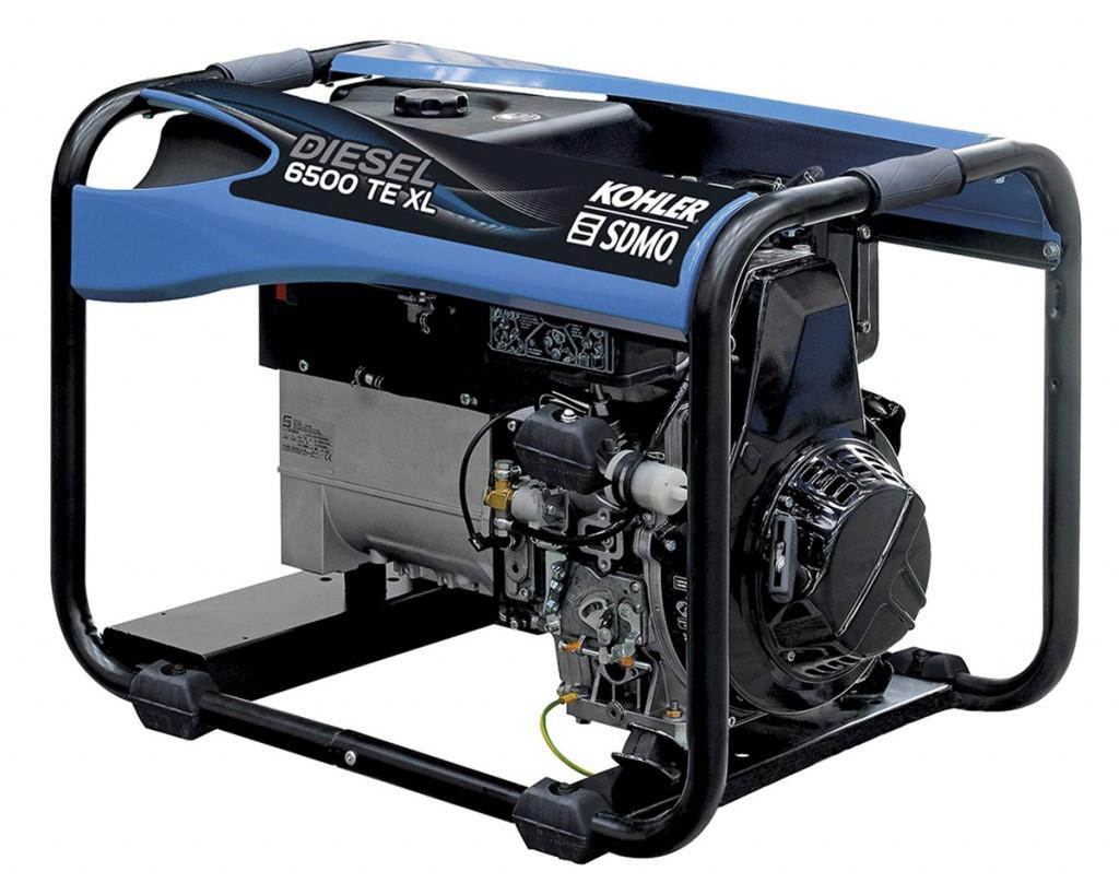 Дизельный генератор SDMO 6500 TE XL C (5.2 кВт)