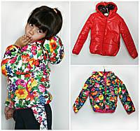Куртка детская наполнитель синтепон 200 рост(116,122,128,134см), фото 1