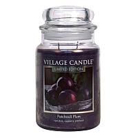 Свеча Village Candle Пачули слива, 602 г (время горения до 170 ч) 127326889