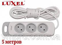 Сетевой удлинитель Luxel Nota 3 розетки, удлинители без заземления 5