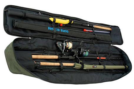 Чохол для вудилищ SkyFish Олива 150 см з фіксаторами, фото 2