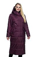 Пальто демисезонная, арт. ЛД105, цвет марсала