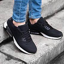 Мужские кроссовки в стиле Nike Air Max 90 обувь мужская демисезонная Размеры ( 44,45), фото 3