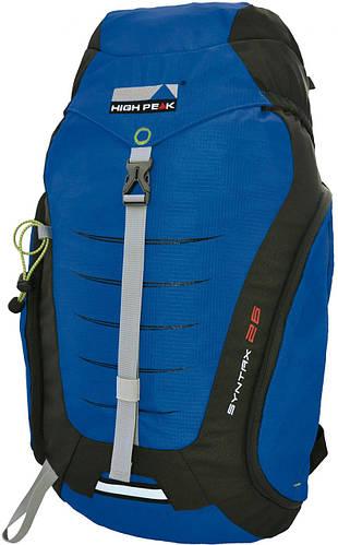 Спортивный, походный рюкзак 26 л. High Peak Syntax 26, Blue/Dark Grey, 921767