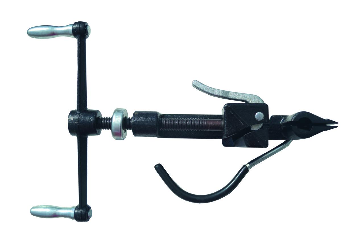 Пристрій для натягування бандажної стрічки PINF