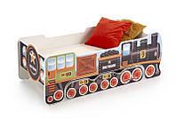 Кровать детская с матрасом LOKOMO (Halmar)