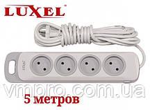 Сетевой удлинитель Luxel Nota 4 розетки, удлинители без заземления 5