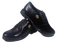 Туфли женские комфорт натуральная кожа черные на шнуровке (09 м-6 ), фото 1