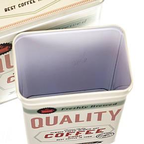 "Набор из 2-ух жестяных банок ""Coffee"" (8113-033), фото 2"