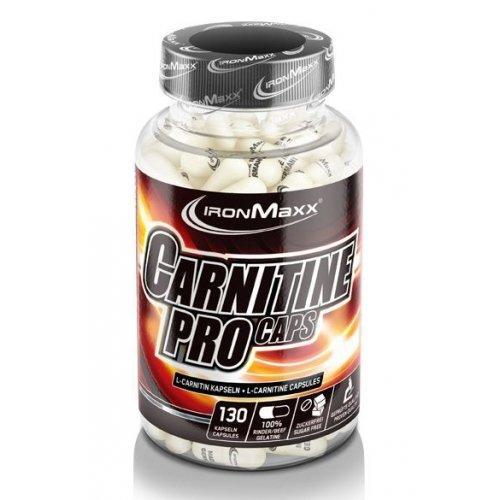 Жиросжигатель Carnitin Pro Caps IronMaxx 130 сaps