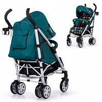 Детская прогулочная коляска Carrello Monster Green