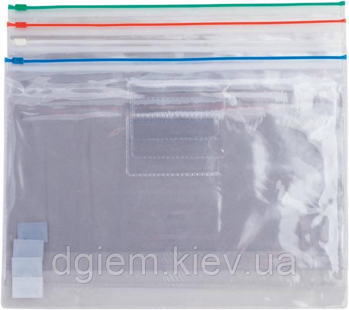 Папка-конверт А4 на молнии