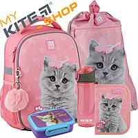 Рюкзак школьный Kite Education Studio Pets SP20-555S Комплект 5 в 1