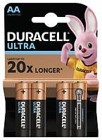 Батарейки DURACELL LR06 KPD 04*20 Ultra, упаковка по 4 штуки