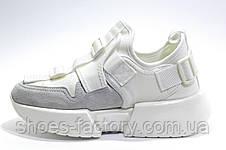 Белые Кроссовки Buffalo на танкетке 2020, Буффало обувь, фото 3