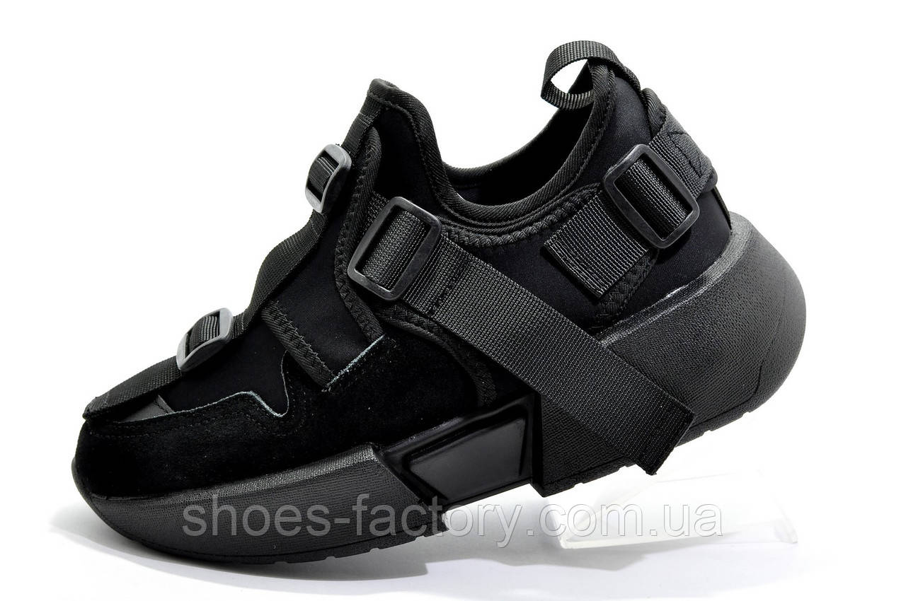 Кроссовки женские Buffalo на танкетке, Буффало обувь
