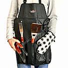 Набор для барбекю с передником - набор инструментов для мангала / Набір для барбекю з фартухом, фото 2