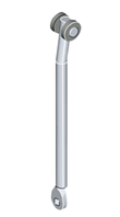 Тяга приєднувальна КОМП (ЄМКА) 1049-U0003, кругла, вигин, довжина 600 мм