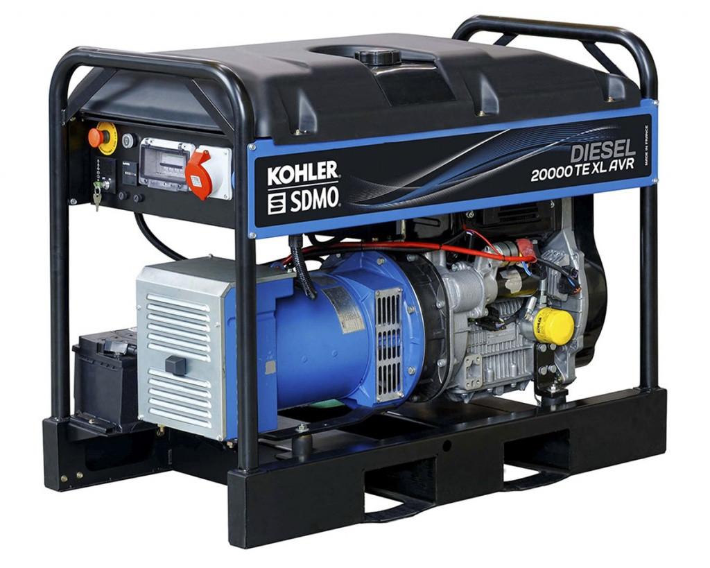 Дизельный генератор SDMO 20000 TE XL AVR C (15.2 кВт)