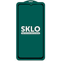 Защитное стекло SKLO 5D (full glue) для Samsung Galaxy A20 / A30 / A30s / A50 / A50s, фото 1