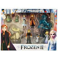 Игровой набор Frozen 2 Холодное Сердце (9 фигурок) Код 2182