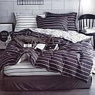 Комплект постельного белья Хлопковый Молодежный 044 M&M 5576 Серый, Белый, фото 2