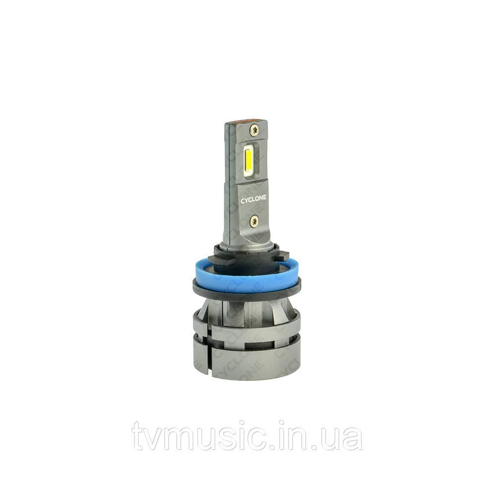 LED лампа CYCLONE H11 5000K 5100Lm CR Type 27S