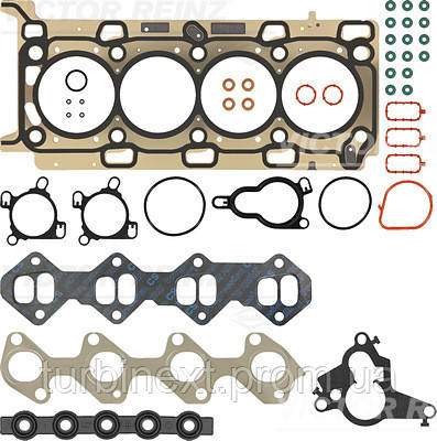 Комплект прокладок (верхний) Renault Master 2.3 dCi/Opel Movano 2.3 CDTI 10- VICTOR REINZ 02-42140-01
