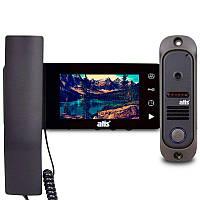 Комплект видеодомофона ATIS AD-440M Kit box Черный, фото 1