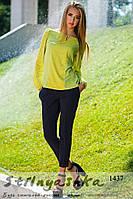 Женская блуза оливка
