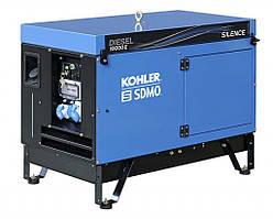 Однофазный дизельный генератор SDMO 10000 E SILENCE (9 кВт)