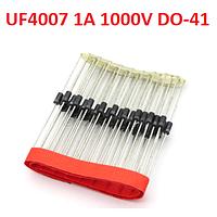 Диод ультрабыстрый UF4007 MIC 1A 1000В DO41