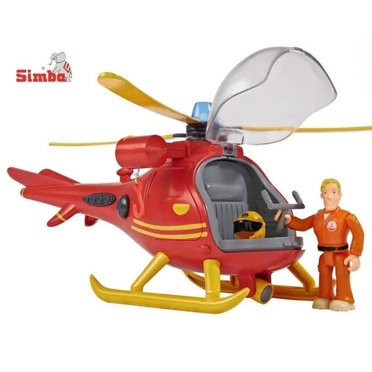 Детский игрушечный Вертолет Спасательный Пожарник Сэм Simba 9251661 игровой набор для детей