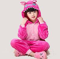 Костюм кигуруми для детей Розовый Стич