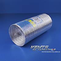 Вентс Алювент Н 100/1. Полугибкие воздуховоды из алюминия