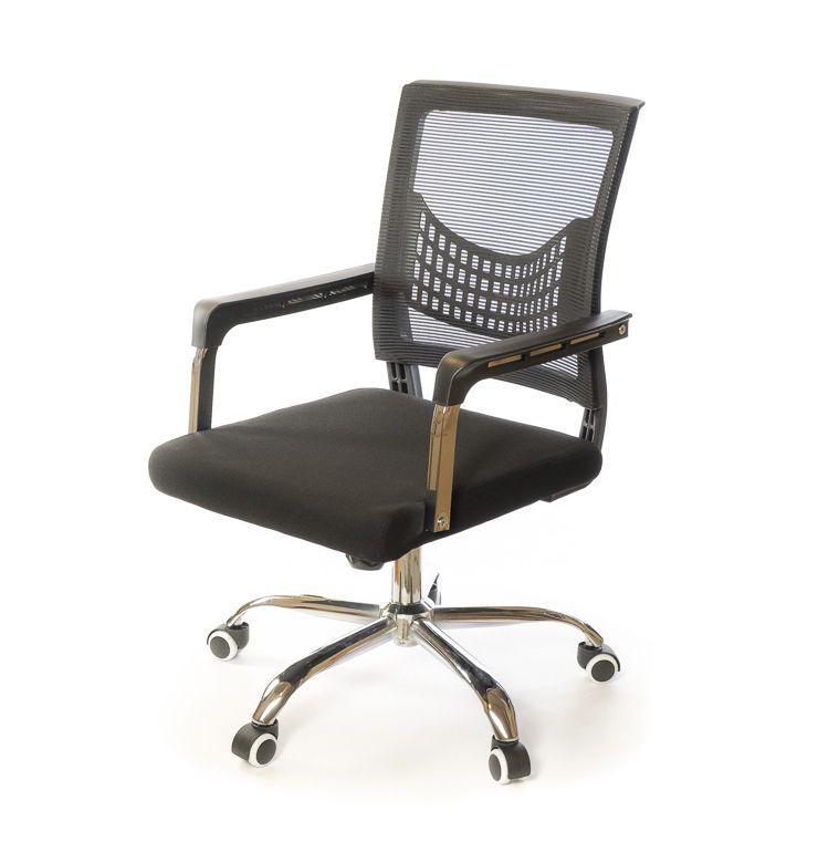 Кресло офисное АКЛАС Бруно Нет СН TILT чёрное