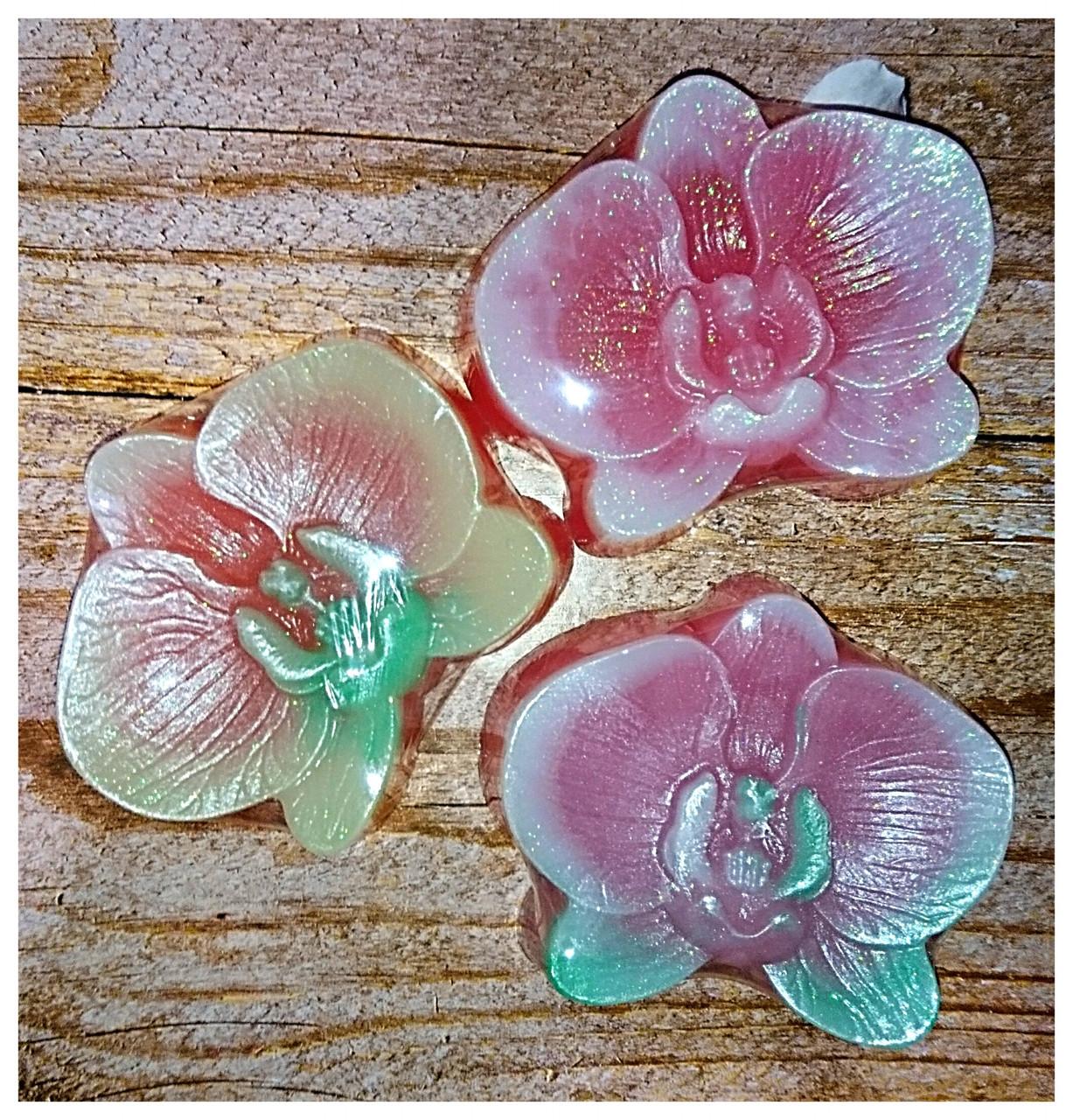 Мило ручної роботи орхідея