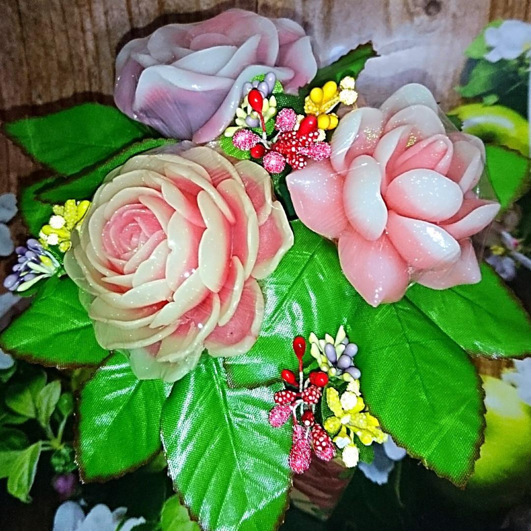 Мило ручної роботи Подарунковий набір Букет квітів