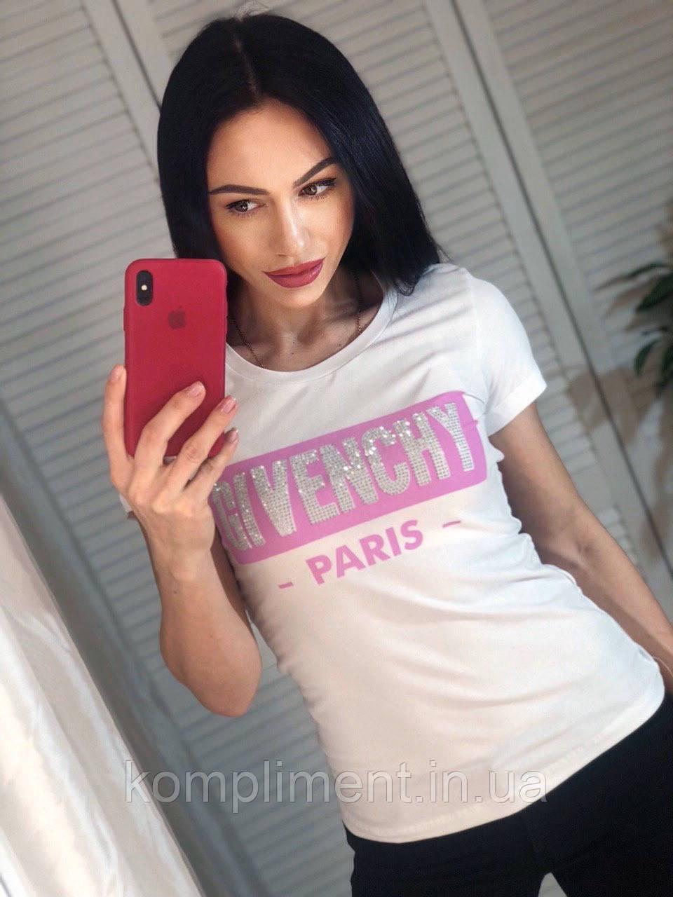 Модная летняя женская турецкая футболка FN 1001
