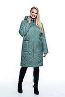 Стеганная куртка женская весенняя, арт. ЛД101-2, цвет мята, фото 1