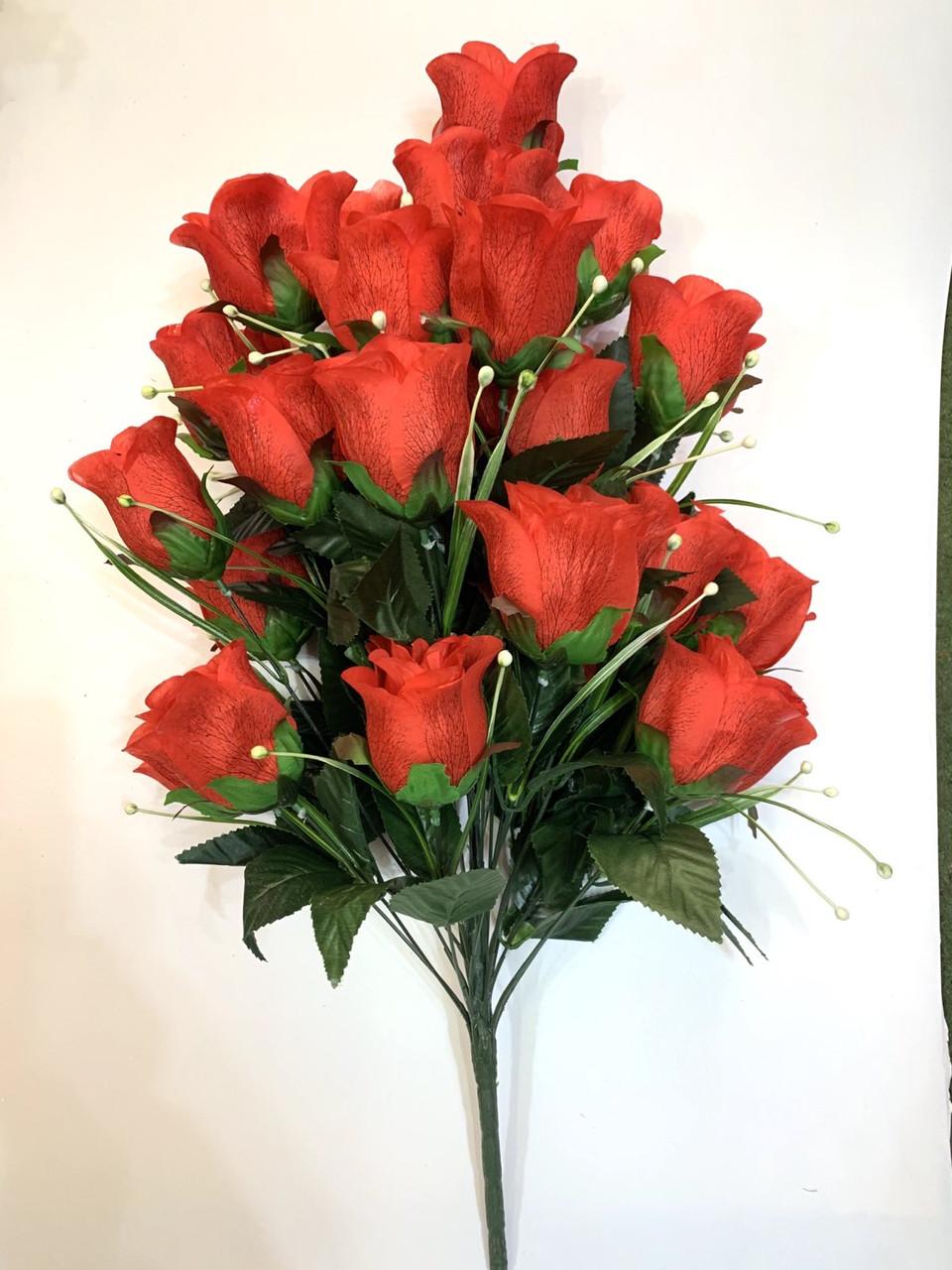 Штучна троянда (70 см)