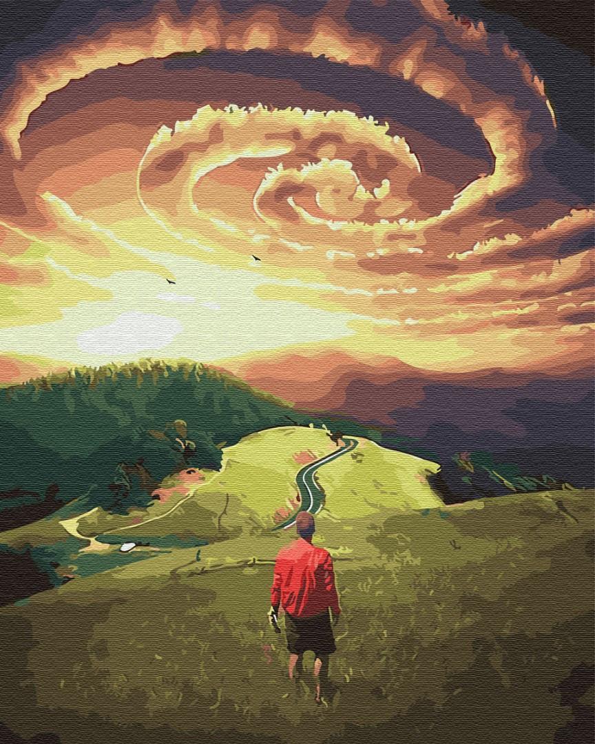 Картина по номерам BrushMe Путь странника (BK-GX30580) 40 х 50 см (Без коробки)