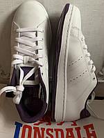 Кроссовки белые натуральная кожа