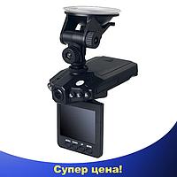 Автомобильный видеорегистратор HD DVR 198 2.5 lcd - авторегистратор со звуком и ночной съемкой
