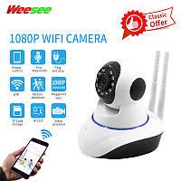 Камера видеонаблюдения Q5 306V (V380) 2mp, IP камера RIAS V380-Q5T Wi-Fi 360, Камера видеонаблюдения IP Q5 (2 антенны)