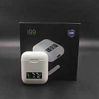 Беспроводные блютуз-наушники i99 tws сенсорные, Bluetooth наушники, Беспроводные наушники