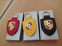 Брелок для ключей кожаный новый оригинал Porsche