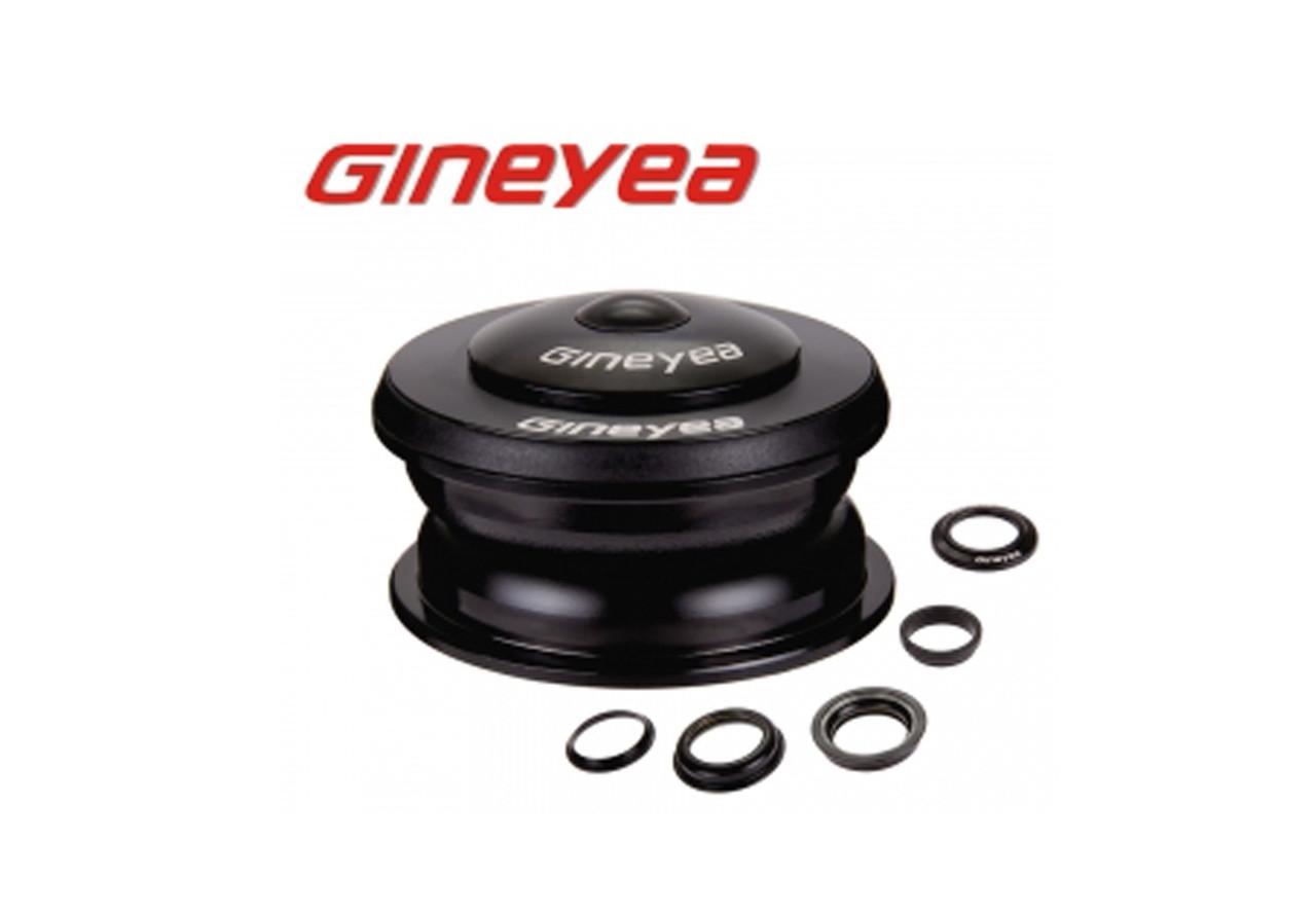 """Велосипедная рулевая колонка 1-1/8"""" полуинтегрированная 44 GINEYEA GH-168 (HSE-067)"""