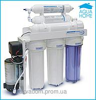 Фильтр осмос Aqualine RO-6p МТ 18 с насосом