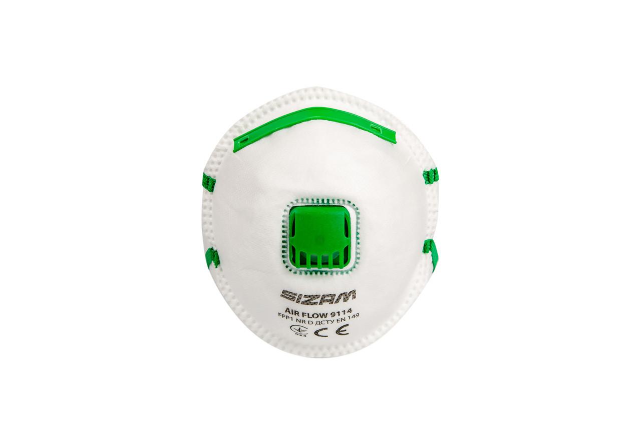Респиратор SIZAM AIR FLOW 9114 FFP1 (20 штук)